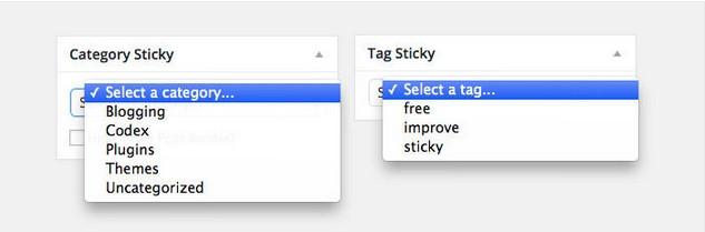 Category-Sticky-Post