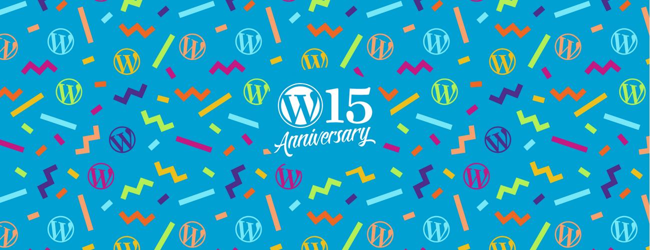WordPress proslavio svoj 15. rođendan