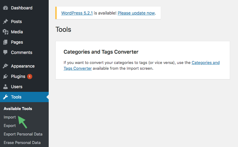 tools import wordpress