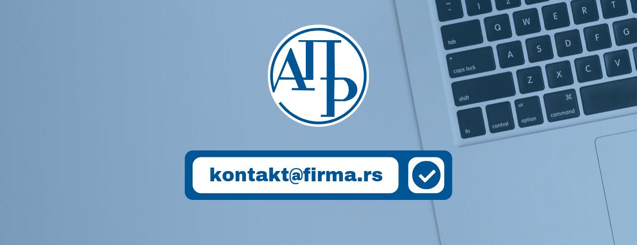 Registracija email adrese u APR-u – UPUTSTVO korak po korak